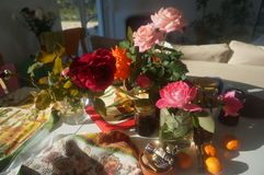 Ranek roses7 Obraz Royalty Free