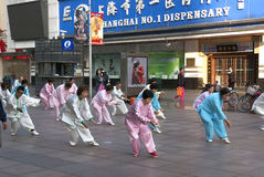 Ranek Shanghai Zdjęcia Stock