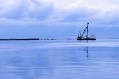 ranek statek Zdjęcia Royalty Free