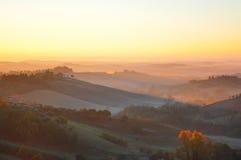 ranek Tuscany Fotografia Stock