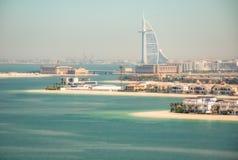 Ranek w Dubaj obrazy royalty free