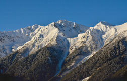 Ranek w górach Zdjęcia Royalty Free