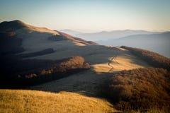 Ranek w górach Fotografia Stock