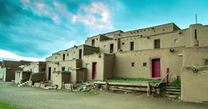 Ranek w Taos osadzie zbiory wideo
