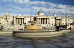 Ranek w Trafalgar kwadracie Obraz Stock