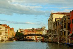 Ranek w Wenecja Obraz Royalty Free
