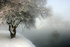 ranek zima Zdjęcia Royalty Free