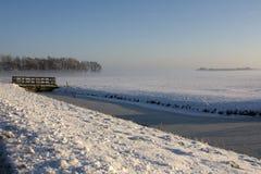 ranek zima Obraz Royalty Free
