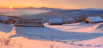 ranek zima s Fotografia Royalty Free