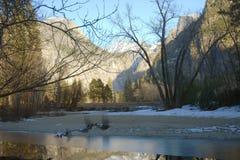 ranek zima Yosemite Obraz Royalty Free