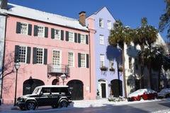 Rangée d'arc-en-ciel, Charleston, Sc photos libres de droits