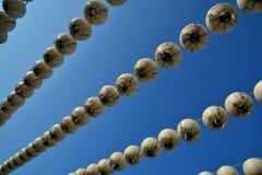 Rangée de lanterne Photo libre de droits