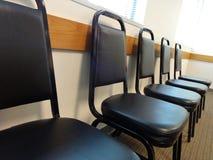 Rangée des chaises Images libres de droits