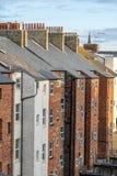 Rangée des Chambres en terrasse photographie stock