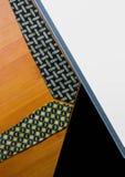 Rangée des cravates collection, modèle, élégant accessoire d'hommes, mode image stock