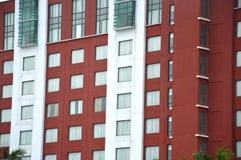 Rangée des fenêtres Photo libre de droits