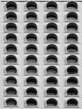 Rangée des fenêtres Image libre de droits