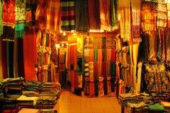 Rangée des tapis Photo stock