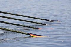 RANGÉE : Les championnats européens d'aviron photo libre de droits