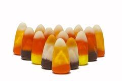Rangées de bonbons au maïs Image stock