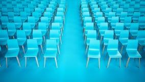 Rangées de chaise Image libre de droits