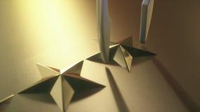 Rang d'examen d'étoile de l'or cinq clips vidéos