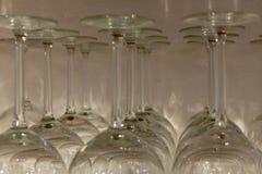 Rang?e des verres images libres de droits