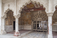 The Rang Mahal housed the emperor`s wives and mistresses. Royalty Free Stock Photos