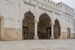 The Rang Mahal housed the emperor`s wives and mistresses. Stock Photography