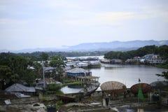 Rangamati u. x28; Hügelbahn city& x29; stockfotografie