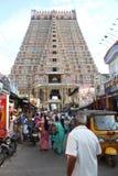 Ranganathaswamy寺庙, Srirangam 库存照片