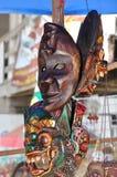 Rangda面具Ubud,巴厘岛 印度尼西亚 库存照片