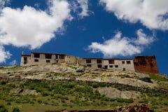 Rangdum Monastery. The Rangdum Monastery in India stock photos