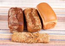 Range of bakery products Stock Photo