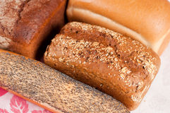 Range of bakery products Stock Image
