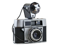 Range-finder camera from 1960 #2 Royalty Free Stock Photo