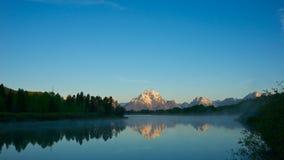 Range of Grand Tetons Royalty Free Stock Images