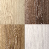 The range of group outdoor laminate wood texture closeup background square Stock Photo