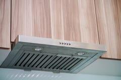 The range hood in modern kitchen Royalty Free Stock Photo