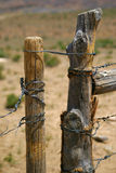 Range land fence Royalty Free Stock Image