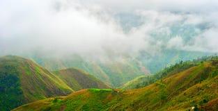 Range of mountains, Philippines Stock Photo