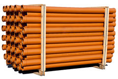 Range of pipes Royalty Free Stock Photo