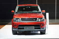 Range Rover Royalty Free Stock Photography