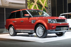 Range Rover Royalty Free Stock Images