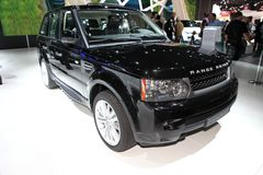 The Range Rover Royalty Free Stock Image