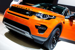 Range Rover Discovery Stock Image