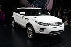 RANGE ROVER Evoque Royalty Free Stock Image
