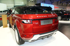 Range Rover Evoque Royalty Free Stock Photos