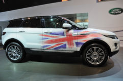 Range rover  evoque 5dr prestige  suv Royalty Free Stock Photography