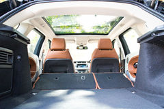 Range Rover Evoque autobiografii 2015 bagażnik Zdjęcia Royalty Free